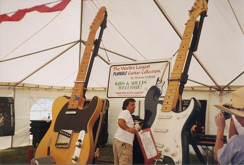 gitaar weetjes