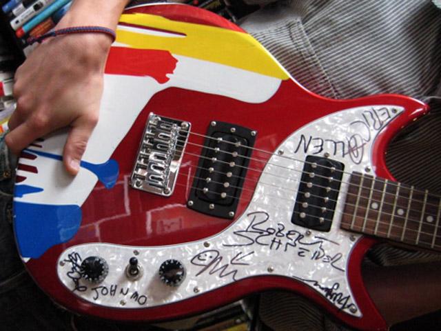 stappenplan akoestische gitaar verven