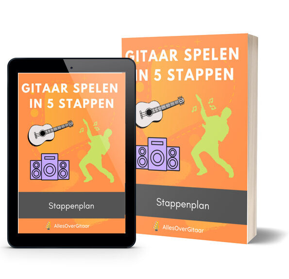 gitaar spelen in 5 stappen cover