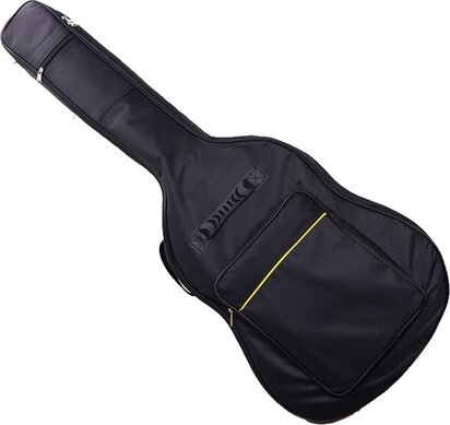 gitaartas en koffer